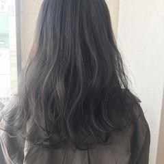 ヘアアレンジ ウェーブ 秋 透明感 ヘアスタイルや髪型の写真・画像