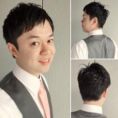 社会人 ボーイッシュ パーマ オフィス ヘアスタイルや髪型の写真・画像