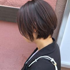 ショートヘア ショート ウルフカット ショートボブ ヘアスタイルや髪型の写真・画像