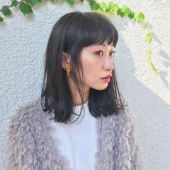 外国人風 黒髪 ストリート 色気 ヘアスタイルや髪型の写真・画像