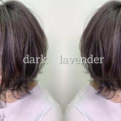 ブルージュ ナチュラル ラベンダーピンク イルミナカラー ヘアスタイルや髪型の写真・画像