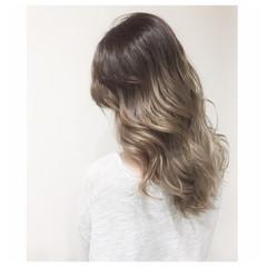 外国人風 渋谷系 ヘアアレンジ ダブルカラー ヘアスタイルや髪型の写真・画像