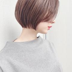 大人かわいい デート ナチュラル ショート ヘアスタイルや髪型の写真・画像