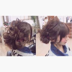 ゆるふわ 外国人風 ロング ハイライト ヘアスタイルや髪型の写真・画像