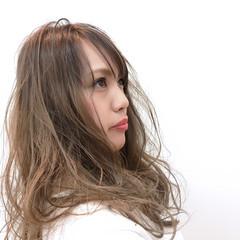 外国人風 透明感 ハイライト 簡単 ヘアスタイルや髪型の写真・画像