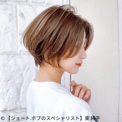 マッシュショート ショートヘア コンパクトショート ショート ヘアスタイルや髪型の写真・画像