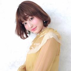 パーマ ストレート ストカール ワンカールパーマ ヘアスタイルや髪型の写真・画像