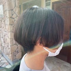 ハンサムショート ショート ショートボブ ストリート ヘアスタイルや髪型の写真・画像