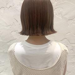 切りっぱなしボブ ボブ ショートボブ ミニボブ ヘアスタイルや髪型の写真・画像