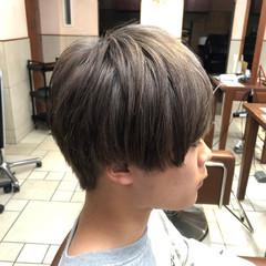 ストリート メンズマッシュ 韓国ヘア 透明感カラー ヘアスタイルや髪型の写真・画像