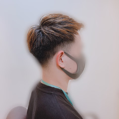 メンズカジュアル メンズカット ストリート ショート ヘアスタイルや髪型の写真・画像