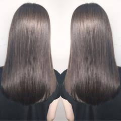 リラックス ハイライト デート ナチュラル ヘアスタイルや髪型の写真・画像