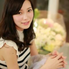 モテ髪 コンサバ フェミニン 黒髪 ヘアスタイルや髪型の写真・画像