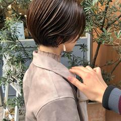 ショートボブ ショートヘア ベリーショート ミニボブ ヘアスタイルや髪型の写真・画像