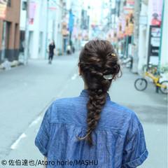 ゆるふわ ヘアアレンジ ロング ルーズ ヘアスタイルや髪型の写真・画像