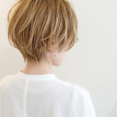 ショート ショートボブ ガーリー ショートヘア ヘアスタイルや髪型の写真・画像