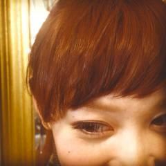 オン眉 秋 ヘアスタイルや髪型の写真・画像