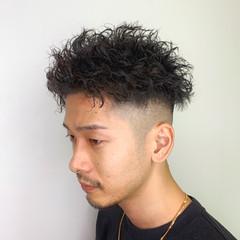 刈り上げ フェードカット メンズカット メンズヘア ヘアスタイルや髪型の写真・画像