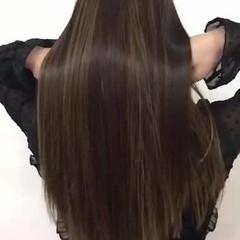 艶髪 トリートメント 上品 ロング ヘアスタイルや髪型の写真・画像