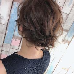 ヘアセット ふわふわヘアアレンジ 大人女子 アップスタイル ヘアスタイルや髪型の写真・画像