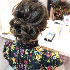 デート ヘアアレンジ ナチュラル ロング ヘアスタイルや髪型の写真・画像