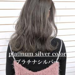 グラデーションカラー ストリート 外国人風カラー ダブルカラー ヘアスタイルや髪型の写真・画像