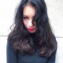 ストリート ショート 暗髪 ロング ヘアスタイルや髪型の写真・画像