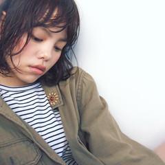 大人女子 大人かわいい 暗髪 黒髪 ヘアスタイルや髪型の写真・画像