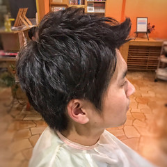 ショート ストリート メンズカット ヘアスタイルや髪型の写真・画像