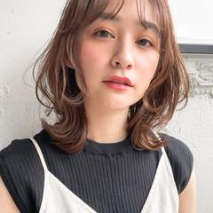 フェミニン アンニュイほつれヘア ウルフカット パーティ ヘアスタイルや髪型の写真・画像