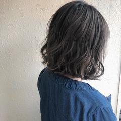 ハイライト ボブ ナチュラル グラデーションカラー ヘアスタイルや髪型の写真・画像