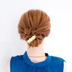 簡単ヘアアレンジ ロング 結婚式 ショート ヘアスタイルや髪型の写真・画像