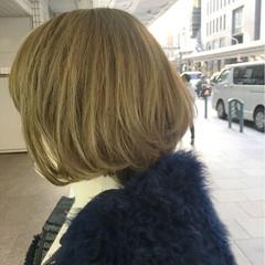 モード ブリーチ ミディアム 似合わせ ヘアスタイルや髪型の写真・画像