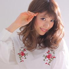 フェミニン 色気 バレンタイン かわいい ヘアスタイルや髪型の写真・画像