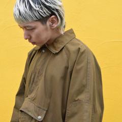 切りっぱなしボブ ショート インナーカラー ショートヘア ヘアスタイルや髪型の写真・画像