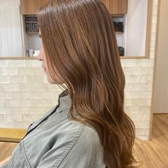 大人女子 イルミナカラー ナチュラル インナーカラー ヘアスタイルや髪型の写真・画像