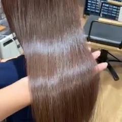 髪質改善トリートメント 最新トリートメント トリートメント ナチュラル ヘアスタイルや髪型の写真・画像