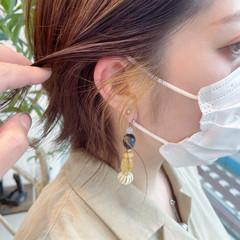 ショート 大人可愛い フェミニン ショートヘア ヘアスタイルや髪型の写真・画像