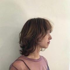 レイヤーカット 外国人風 モード ハイライト ヘアスタイルや髪型の写真・画像