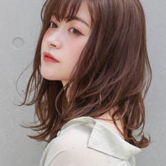 似合わせカット フェミニン アンニュイほつれヘア デジタルパーマ ヘアスタイルや髪型の写真・画像