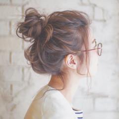 ショート 大人かわいい ロング お団子 ヘアスタイルや髪型の写真・画像