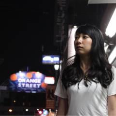 ストリート 黒髪 ロング 大人かわいい ヘアスタイルや髪型の写真・画像