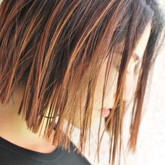 外国人風 色気 ハイライト ストリート ヘアスタイルや髪型の写真・画像