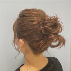 ヘアアレンジ ナチュラル ボブ 簡単ヘアアレンジ ヘアスタイルや髪型の写真・画像
