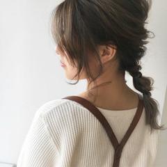 ヘアアレンジ 外国人風 デート 簡単ヘアアレンジ ヘアスタイルや髪型の写真・画像