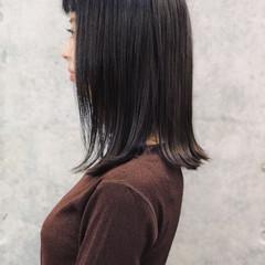 ナチュラル 髪質改善 外国人風 ロブ ヘアスタイルや髪型の写真・画像