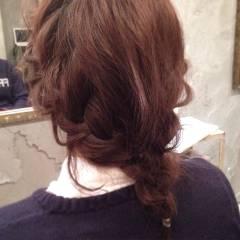 愛され ヘアアレンジ 簡単ヘアアレンジ ショート ヘアスタイルや髪型の写真・画像