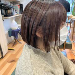 ショートヘア ミニボブ ボブ ハイトーンボブ ヘアスタイルや髪型の写真・画像