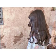 簡単ヘアアレンジ デート ロング リラックス ヘアスタイルや髪型の写真・画像