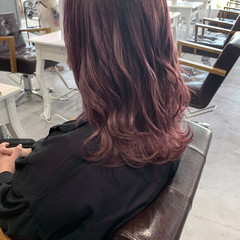 透明感カラー ミディアム ブリーチ必須 大人かわいい ヘアスタイルや髪型の写真・画像